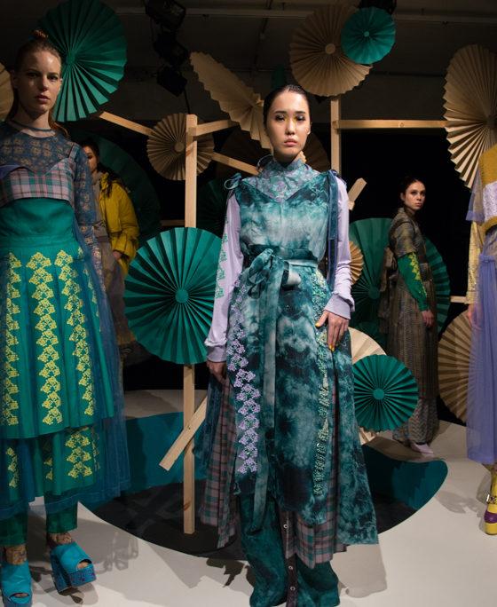 Katie Ann Mcguigan Lon Fashion Week Presentation