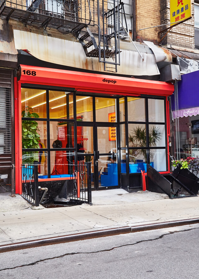 The Depop space in New York City